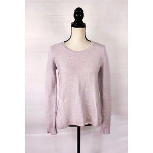 Madewell Crewneck Sweater Purple XS